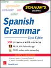 Schaum's Outline of Spanish Grammar, 6th Edition (Schaum's Outlines) Cover Image