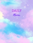 Daily Planner: Daily and Weekly Organizer Daily Diary 122 Pages, 8.5 x 11 Cover Image