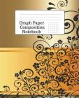 Graph Paper Composition Notebook: 5 Squares Per Inch - 100 Pages - 7.5 x 9.25 Inches - Paperback Cover Image