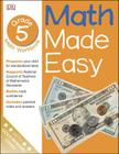 Math Made Easy: Fifth Grade Cover Image