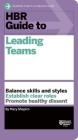 HBR Guide to Leading Teams Cover Image