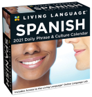 Living Language: Spanish 2021 Day-to-Day Calendar Cover Image
