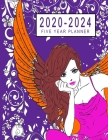 2020-2024 Five Year Planner: 5 Year Monthly Logbook, 60 months Calendar Agenda Schedule Organizer Planner 8.5 x 11 With Holidays Cover Image