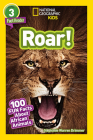 National Geographic Readers: Roar! 100 Facts About African Animals (L3) Cover Image