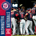 Washington Nationals 2021 12x12 Team Wall Calendar Cover Image