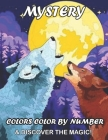 Mystery Colors Color by Number & Discover the Magic! Cover Image