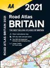 Road Atlas Britain 2021 Cover Image