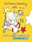 Cartoony Coloring Fest Starring Them Magic Elephants Cover Image