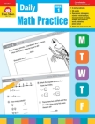 Daily Math Practice, Grade 1 Cover Image