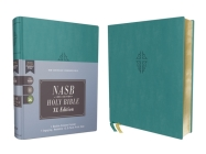 Nasb, Holy Bible, XL Edition, Leathersoft, Teal, 1995 Text, Comfort Print Cover Image