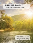 PSALMS Book I with Left Notetaker Lines: LARGE PRINT - 18 point, Kind James Today Cover Image