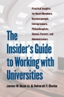 The Insider's Guide to Working with Universities: Practical Insights for Board Members, Businesspeople, Entrepreneurs, Philanthropists, Alumni, Parent Cover Image