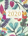 2020 Weekly and Monthly Planner: Weekly appointment by daily to do list and schedule organizer, calendar start from January 2020 to December 2020 with Cover Image