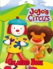 Jojo's Circus Coloring Book Cover Image