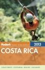Fodor's Costa Rica 2013 Cover Image
