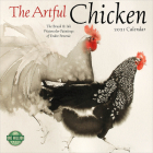 Artful Chicken 2021 Wall Calendar: Brush & Ink Watercolor Paintings Cover Image