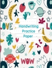 Handwriting Practice Paper Dotted to Write Letters Sheets for K-3 Students: For Kindergarten To 3rd Grade Students (Large 8.5x11 Inches - 50 Sheets - Cover Image