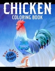 Chicken Coloring Book: Difficult Chickens Coloring Book - An Adults Chicken and Rooster Coloring Book with Hens Chickens and Chicks for Stres Cover Image