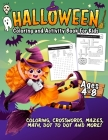Coloring and Activity Book - Halloween Edition Cover Image