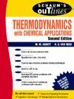 Schaum's Outline of Thermodynamics with Chemical Applications (Schaum's Outlines) Cover Image