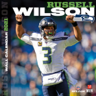 Seattle Seahawks Russell Wilson 2021 12x12 Player Wall Calendar Cover Image