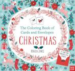 The Coloring Book of Cards and Envelopes: Christmas Cover Image