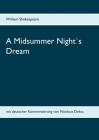 A Midsummer Night`s Dream: mit deutscher Kommentierung von Nicolaus Delius Cover Image