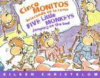 Cinco Monitos Brincando en la Cama/Five Little Monkeys Jumping On The Bed Cover Image