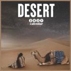 Desert 2021 Calendar: 18 Months Mini Wall Calendar 2021 Cover Image