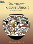 Southwest Indian Designs Coloring Book (Dover Pictorial Archives) Cover Image