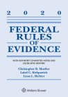 Federal Rules of Evidence: With Advisory Committee Notes and Legislative History: 2020 Statutory Supplement (Supplements) Cover Image