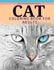 Adult coloring books animals, cat coloring books for adults: Grayscale animal coloring books: A cat lovers coloring book Cover Image