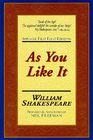 As You Like It: Applause First Folio Editions Cover Image