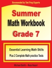 Summer Math Workbook Grade 7: Essential Learning Math Skills Plus Two Complete Math Practice Tests Cover Image