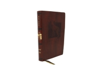 Net Bible, Thinline Art Edition, Large Print, Leathersoft, Brown, Comfort Print: Holy Bible Cover Image