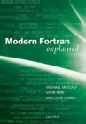 Modern Fortran Explained (Numerical Mathematics and Scientific Computation) Cover Image