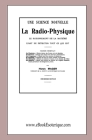 La Radio-Physique: Une science nouvelle Cover Image