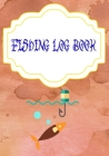 Fishing Log Book Gmeleather: Finder Fishing Logbook 110 Pages Size 7 X 10 Inch Cover Matte - Notes - Pages # Notes Very Fast Print. Cover Image
