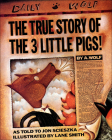 The True Story of the 3 Little Pigs Cover Image