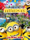 Minions Coloring Book Cover Image