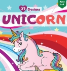 Unicorn Coloring Book for Girls Aged 4-8: Awesome Unicorn Designs Cover Image
