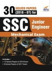 30 Solved Papers (2018-07) for SSC Junior Engineer Mechanical Exam Cover Image