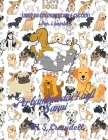 Cani e cuccioli libro da colorare per bambini: Cani e cuccioli, 50 adorabili disegni di cani e cuccioli per ragazzi e ragazze, libro di attività con c Cover Image