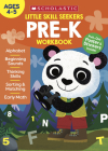 Little Skill Seekers: Pre-K Workbook Cover Image