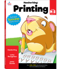 Handwriting: Printing Workbook Cover Image