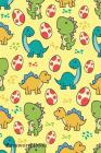 Password Book: Include Alphabetical Index With Cute Dinosaurs Character Background Cover Image