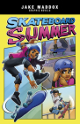 Skateboard Summer (Jake Maddox Graphic Novels) Cover Image