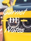 Carnet De Notes: Bloc-Notes (Mustang) - 8,5x11 pouces (21,57 x 27,94cm) Cover Image