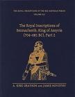 The Royal Inscriptions of Sennacherib, King of Assyria (704-681 Bc), Part 2 (Royal Inscriptions of the Neo-Assyrian Period #3) Cover Image