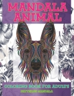 Coloring Book for Adults Patterns Mandala Animal Cover Image